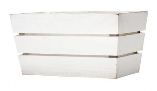 White Wash Softwood Window Box